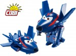 COBI SUPER WINGS Transformujący AGENT CHACE Figurka
