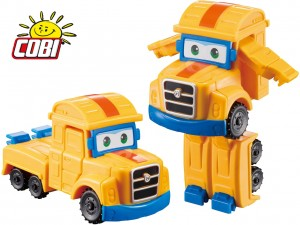COBI SUPER WINGS Transformujący POPPA WHEELS